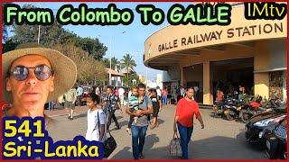 Из Коломбо в Galle на поезде Обзор Отеля я в Галле Шри Ланка