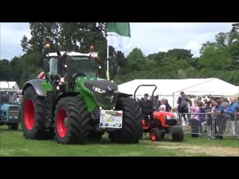 Berkeley Show Part 1. Meet the hounds and vintage tractors
