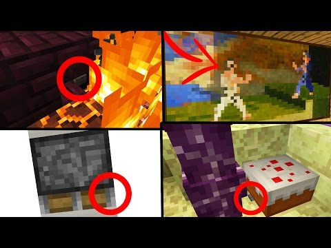 EXTREMELY HIDDEN MINECRAFT BUTTONS!