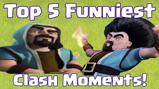 Clash Of Clans Funniest Moments Top 5 Things That Have Happened To You On Attack Or Defense
