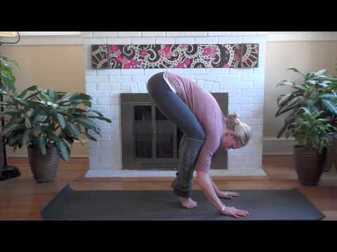 yoga online crow pose bakasana  youtube