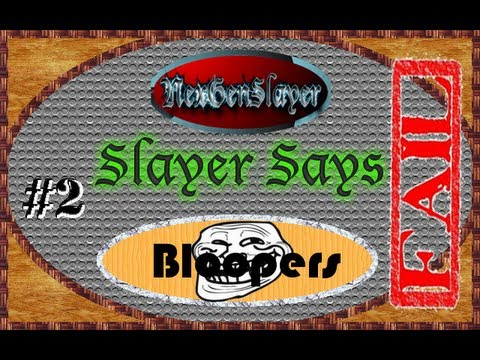 "MW3: Slayer Says (Simon Says) Fail Episode ""There's Always a Noob..."" (Bloopers Ep.2)"