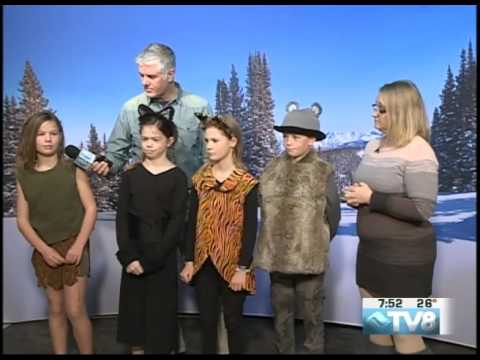 "Homestake Peak School Play ""The Jungle Book"" Deanna Piper & Kids 11.08.16 Good Morning Vail"