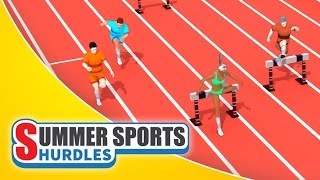 Summer Sports: Hurdles - Game Trailer (Spil Games)