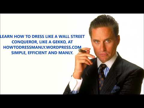 TRIBUTE TO A WALL STREET MASTER : GORDON GEKKO ++ FLY ME TO THE MOON FRANK SINATRA ++ TRIBUTE MUSIC