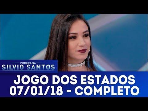 Jogo dos Estados -  Completo  | Programa Silvio Santos (07/01/18)