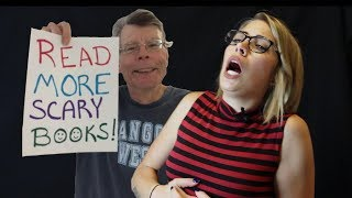 I SAW STEPHEN KING IN PERSON! // Megan Vlogs