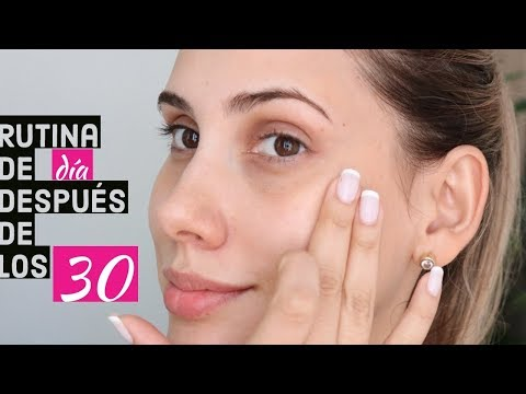 Rutina de piel DIA después de los 30  (entreviste  a mi dermatologa) - Carolina Ortiz