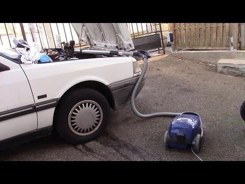 Finding a weird vacuum leak with a weird tool...