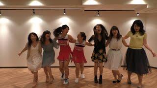 gleedom i kissed a girl glee dance cover