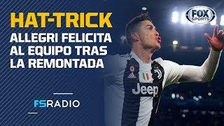 Los halagos de Massimiliano Allegri para Cristiano Ronaldo