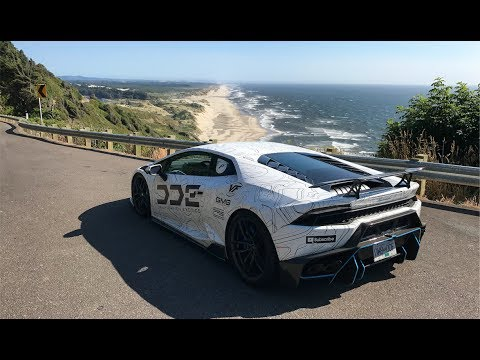 Cali To Canada in 800 HP MODIFIED LAMBORGHINI