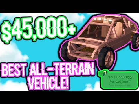 THE BEST ALL TERRAIN VEHICLE FOR ROBLOX JAILBREAK! (GUARANTEED!)