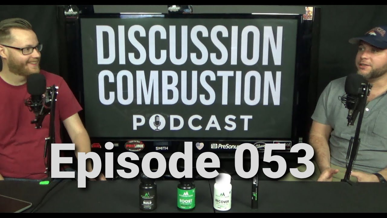 Discussion Combustion Podcast   Episode 053 w/ Kevin Batstone and Arthur Rawe