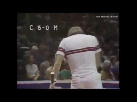 Jimmy Connors vs McEnroe RR - Volvo Masters 1981