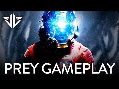 PREY: Gloo Cannon, Mimic Ability, and Alien Gameplay REVEALED! (Gamescom 2016 Trailer)