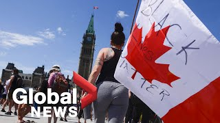 George Floyd protests: Peaceful demonstrations against racism held across Canada