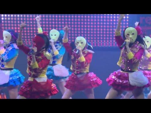 仮面女子「元気種☆」オリコン1位に!ヒット御礼イベントで熱唱! #Kamen Joshi #Japanese Idol