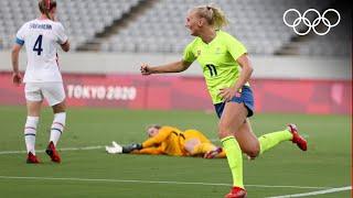 Женский футбол Токио 2020 Швеция США Австралия Новая Зеландия