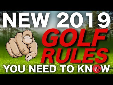 The new 2019 golf rules you NEED to know