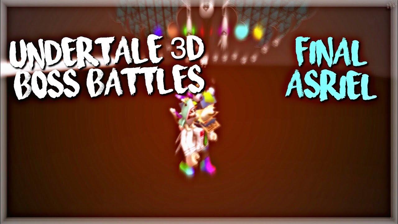 Roblox Undertale Boss Battles Asriel Roblox Undertale 3d Boss Battles Final Asriel Lost Souls By Mcrblxgamer