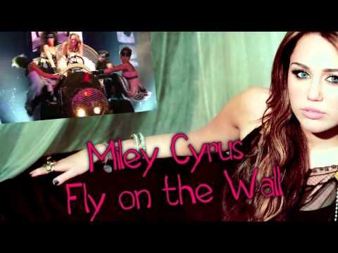 Miley Cyrus - Fly On The Wall [Lyrics on Screen] (DEMO-TEST)