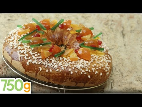 Gâteau des rois ou Brioche des rois - 750g