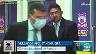 Piquet Nogueira   Pronunciamento Câmara de Russas   26 01 21