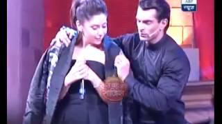 Karan singh grover and karan johar segment of hosting star screen awards