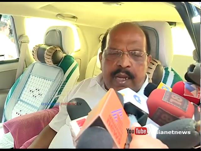 G Sudhakaran's responses on Pinarayi Vijayan gets clean chit to lavilin case