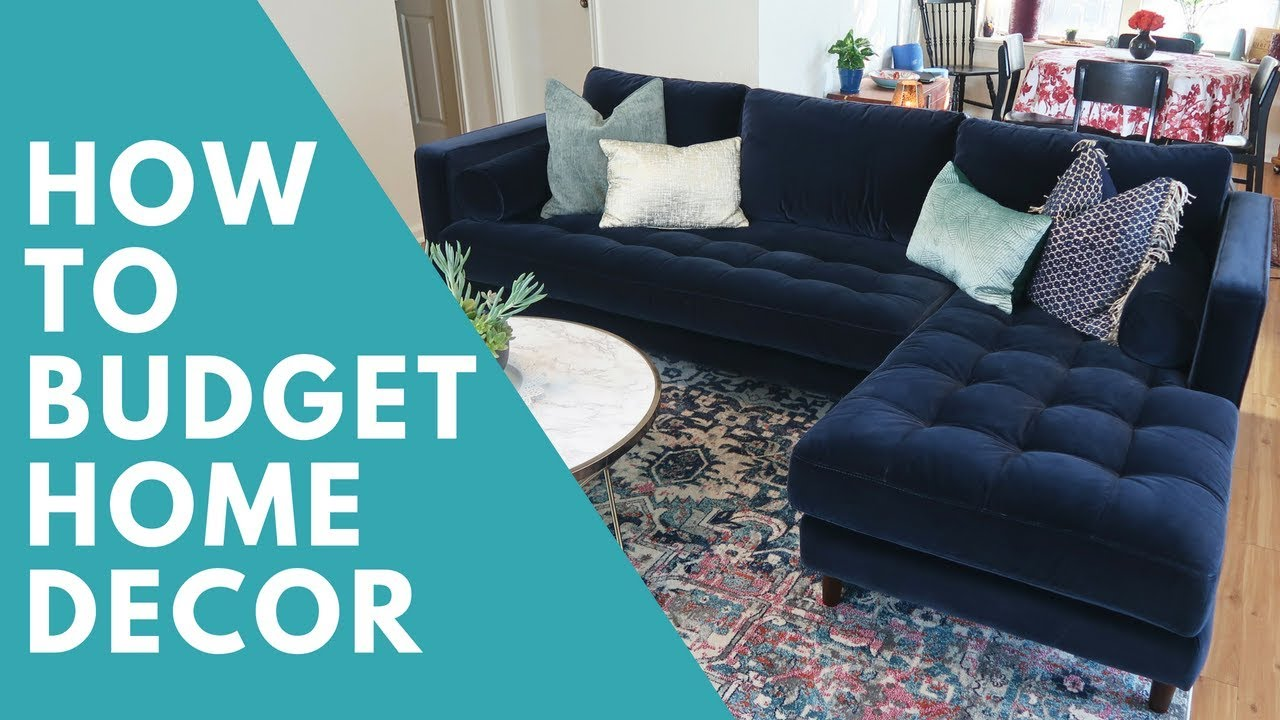 Article Sven Furniture Review How To Budget For Home Decor Youtube
