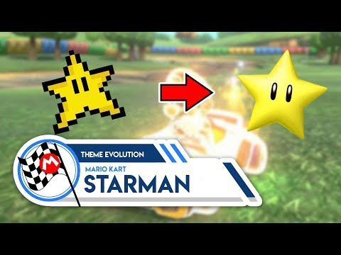 Mario Kart Starman | Theme Evolution