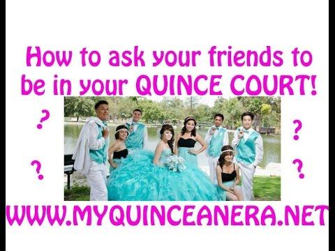 DIY Quinceanera Court Invites: How to