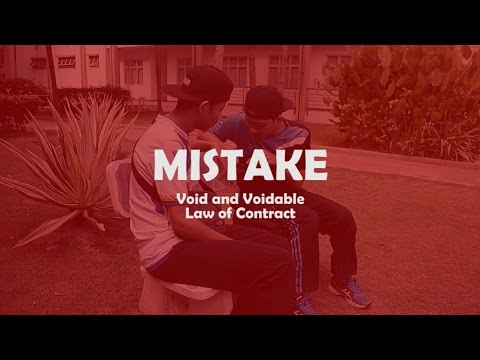 Short Film - Mistake  (Void & Voidable - Law of Contract) USIM