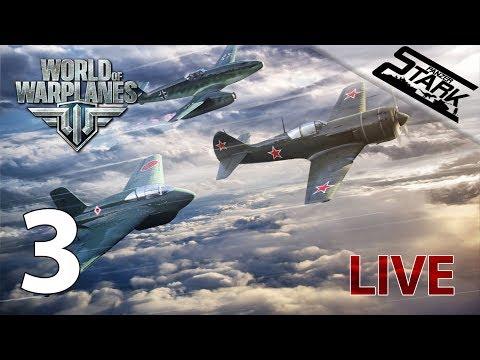 World Of Warplanes - 3.Rész (Felszállás!) - Stark LIVE