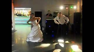 Lisa and John Lancaster Wedding First Dance Surprise Medley 5th June 2011