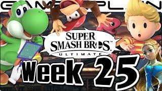 Smash Bros. Ultimate Update: 1 Week Left! Diddy, Lucas, Yoshi, & Sakurai's Last Column - Week 25