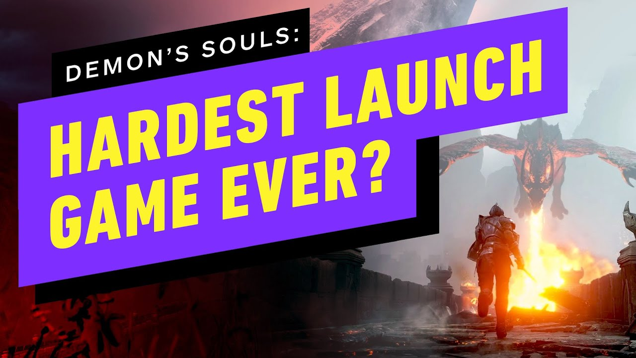 Is Demon's Souls The Hardest Console Launch Title Ever? - Up At Noon - IGN