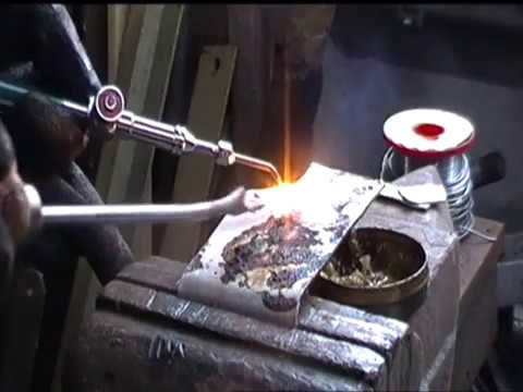 HHO torch testing of welding use