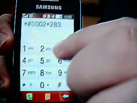 TUTORIAL SAMSUNG S5230 MOD VOLUME