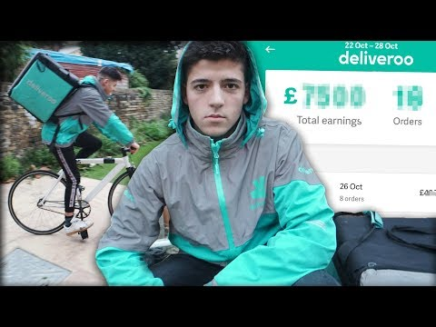 I Worked a Job At Deliveroo for a Week & Made £___