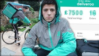 I Worked A Job At Deliveroo For A Week & Made £