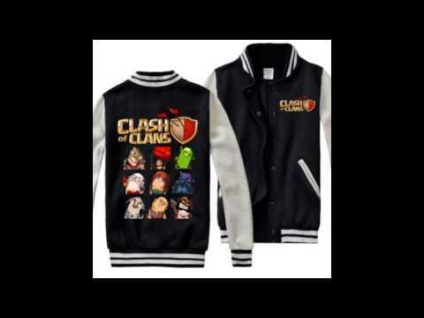Clash of Clans baseball jacket