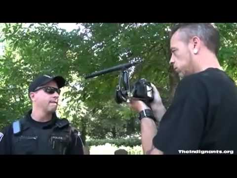 Occupy media confronted by Ottawa Police *The Indignants*