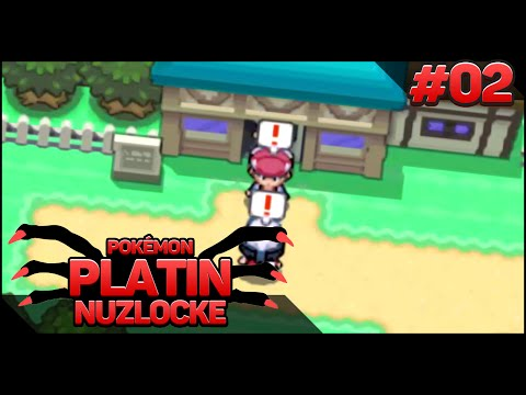★ And his name is .. ★ Pokemon Platin Randomizer [Nuzlocke/German] - #02