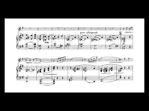 Bowen Suite for Violin and Piano op28 - I. Sonata Movement (with score)