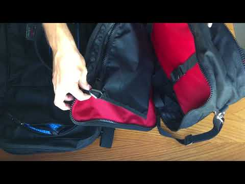 Tom Bihn Western Flyer and Red Oxx Mini Boss Comparison Review