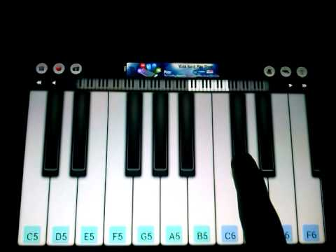 How to play  Ba If You Give It To Me  Busta Rhymes & Mariah Carey on a piano