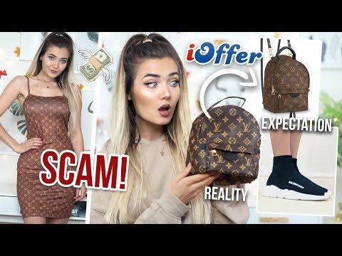 I BOUGHT FAKE DESIGNER ITEMS ON IOFFER... I DID NOT EXPECT THIS!