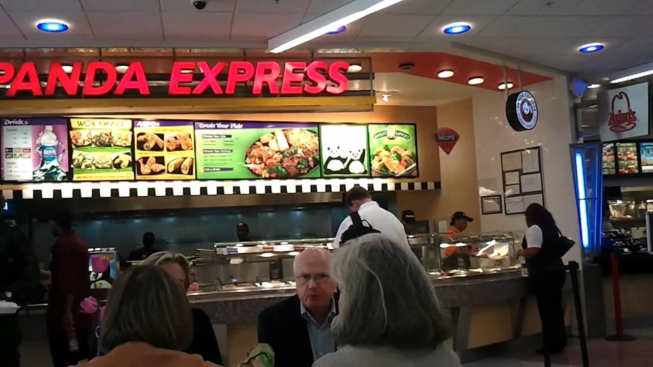 Quick lunch at Panda Express Atlanta Airport YouTube